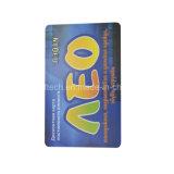 Tarjeta modificada para requisitos particulares Cr80 del PVC de la impresión RFID MIFARE