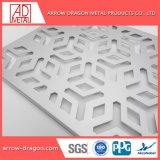 Découpe laser PVDF panneaux sculptés en aluminium/ gravé Partition/ salle/ Bi-Folding Écrans de diviseur
