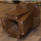 Muebles de Salón de alta calidad Silla de madera sólida (CH-617)