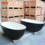 Casa de banho de pedra de resina de mobiliário interior Autoportante Banheira