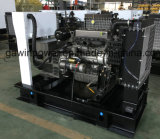 질 동봉하는 내각을%s 가진 100kVA/80kw Weichai 디젤 엔진 발전기