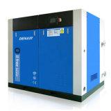 전기 Oil-Free 또는 이단식을%s 가진 더 적은 나사 공기 압축기를 기름을 바른다