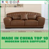 アメリカの木足の本革型のソファー