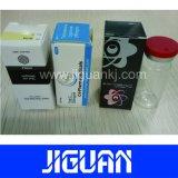 Personalizado de diseño libre de embalaje de productos farmacéuticos de inyección de esteroides de 10ml frasco de verificación