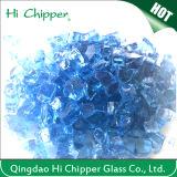 Fogata de virutas de vidrio Chimenea