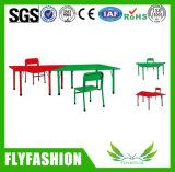 Cheap colorida Mesa trapezoide muebles para niños Los niños