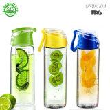 800 мл BPA бесплатные спортивные занятия тритан фрукты Infuser/бутылка воды с лимоном