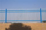 우아한 파란 장식적인 안전에 의하여 직류 전기를 통하는 강철 담 11-3년