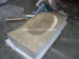 Естественный каменный мраморный тазик Onyx гранита для ванной комнаты