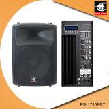 15 duim Bluetooth 5 de Plastic Actieve Spreker van de Band EQ met FM pS-1715fbt