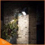 Separados al aire libre 38 llevó la luz solar para jardín patio de la pared de iluminación de cerco con tres modos de trabajo funcional