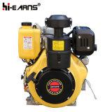 Motor diesel con el color del amarillo del eje de la chavetera (HR192FB)