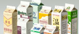 Umweltfreundliches Papierdrucken-Entwurfs-Milch-Kasten-Verpacken