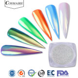 Alimentação de fábrica Mermaid Magic Color Rainbow espelho cromado Aurora pigmento em pó para as unhas