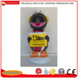 Polyresin Bobble mascote da cabeça do Cartoon Bobblehead Figurine dons
