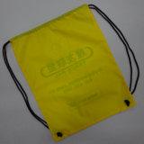 Coulisse en polyester 420D élégant sac fourre-tout de l'école