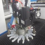 3 Mittellinie Yaskawa ServomotorHsd Spindel-Holzbearbeitung-ATC CNC-Fräser