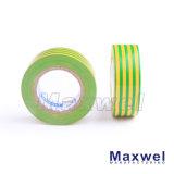 Ruban adhésif d'isolation électrique ignifuge de PVC