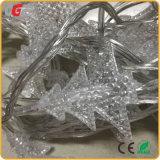 La chaîne de caractères de DEL allume les sorties d'usine imperméables à l'eau colorées de décoration de pièce des lumières RVB d'arbre de Noël