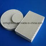 Placa de cerámica de gas del panal infrarrojo del calentador para la hornilla