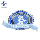 Ropa barata personalizada etiqueta tejida con diseño de logotipo