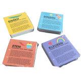 Brinquedos dos jogos do cartão de jogo de papel/instrução profissional