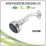 Tête de douche H-1017 en plastique en chrome plaqué