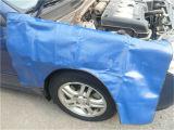 Tampa impermeável feita sob encomenda do pára-choque do lado do carro