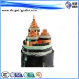 Cable aislante XLPE de alta tensión