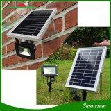 Piscina 10W Jardim Holofote Solar com sensor de movimentos PIR
