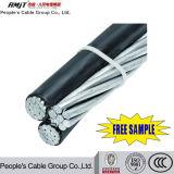 Conduttore di alluminio del cavo di ABC con il livello di Icea