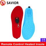 Controle remoto palmilha de Aquecimento confortável recarregável