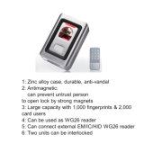 Lector de tarjetas metálico del caso RFID con el regulador con Wiegand 26