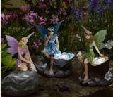 Polyresinの鳥の太陽軽い庭ライト庭の装飾(137A)