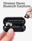 Oreillettes Oreillette Bluetooth sans fil métal Tws cas de charge des écouteurs Bluetooth