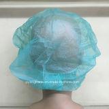 의학에 있는 처분할 수 있는 간호원 치과 불룩한 모자