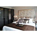 Späteste weiße elegante Rücksortierung-Hotel-Wohnungs-Schlafzimmer-Möbel-Sets
