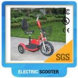 2017 3 vespa eléctrica vendedora caliente del golf de la rueda 500W con las tes de golf