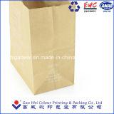 OEM ecológica de la bolsa de papel Kraft marrón con su propio logotipo