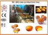 機械を作るKh600カスタードケーキ