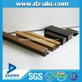 Aluminiumprofil mit der kundenspezifischen Farbe anodisiert/Puder-Mantel/hölzernem Korn