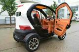 Everbright 2018 Alta calidad de 4 asientos Aire acondicionado Mini Coche eléctrico urbano