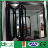 Finestra piegante di alluminio con il prezzo di fabbrica