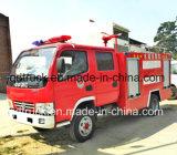 De kleine Vrachtwagen die van de Brand in Smalle Straat, 3000L kleine brandbestrijdingsvrachtwagen gebruiken