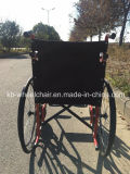 Надежная складчатость, стальная ручная кресло-коляска