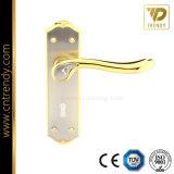 Plate (7024-Z6097)에 최신 Sale Simple Door Lock Latch Handle
