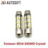 12V indicatore luminoso a cristallo della targa di immatricolazione dell'automobile del festone della lampada delle lampadine LED dell'automobile LED