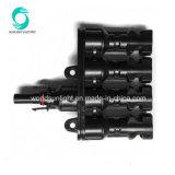 1 paires M/FM 30UN PANNEAU SOLAIRE PV MC4 de 4 à 1 du connecteur du câble de la Direction générale de type T