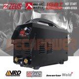 10-200A 220V Staaf 1.65.0mm van de Lasser van de Boog IGBT de Machine van het Lassen MMA