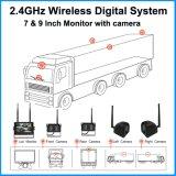 4CH DE INVERSIÓN Digital DVR Monitor para los vehículos agrícolas
